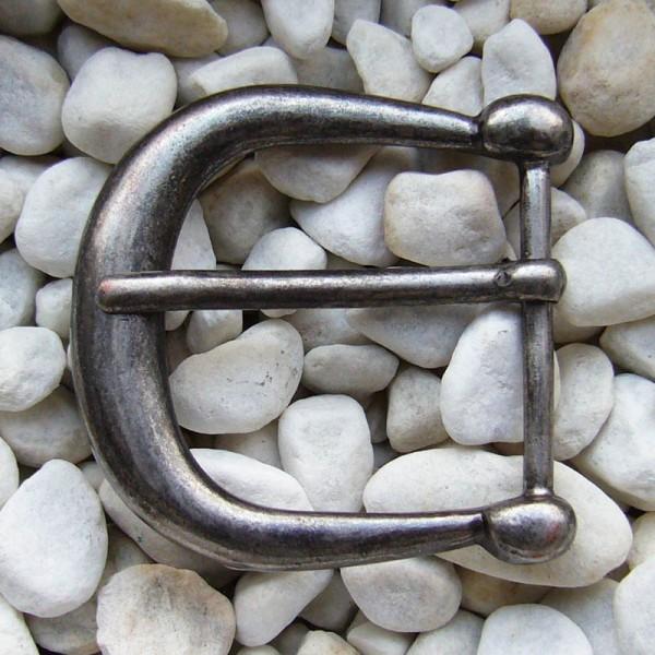 Jori, 4cm, eisenfarbene Mittelalter-Schließe