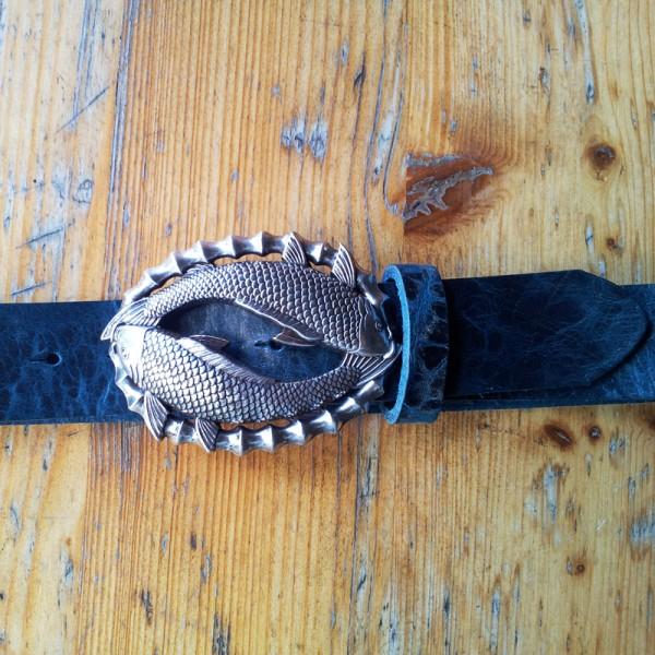 Gosch, 4cm, silberne Schließe
