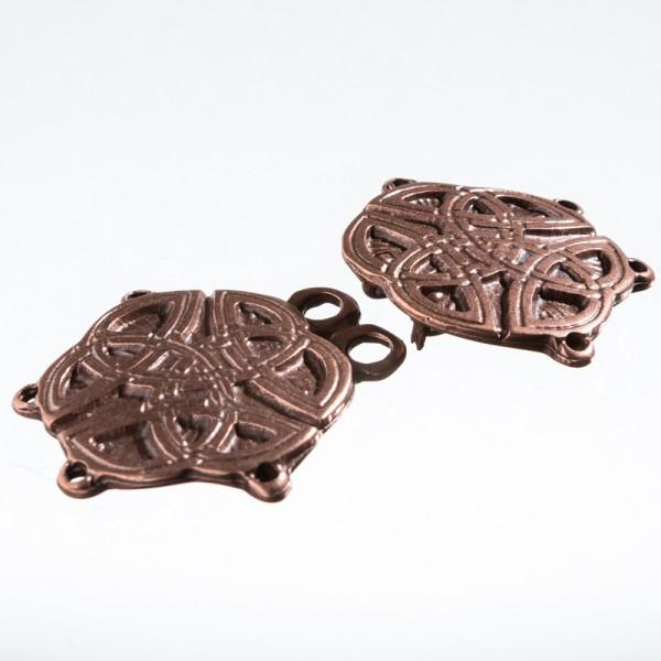 Tassel Celtic-Knot, kupferfarben