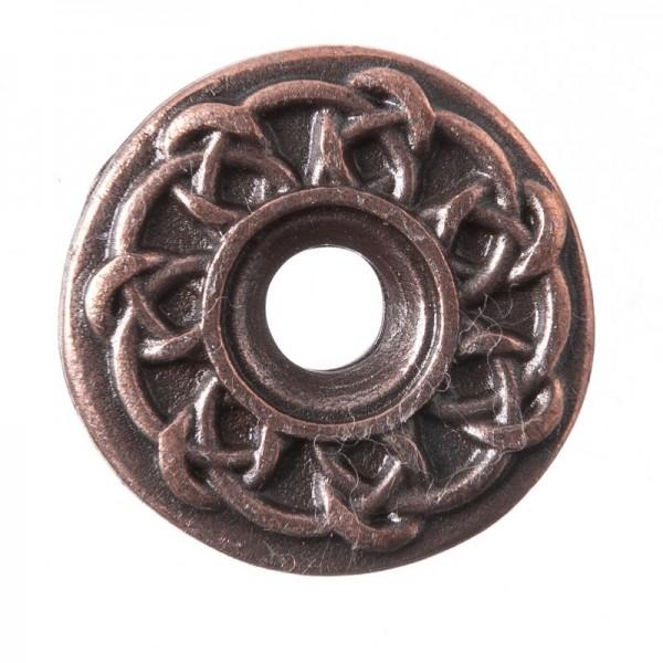Celtic Ringknot, kupferfarbener Beschlag