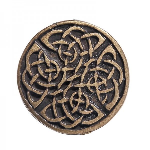 N-119-21 Celtic Knot 2, Beschlag altmessingfarben