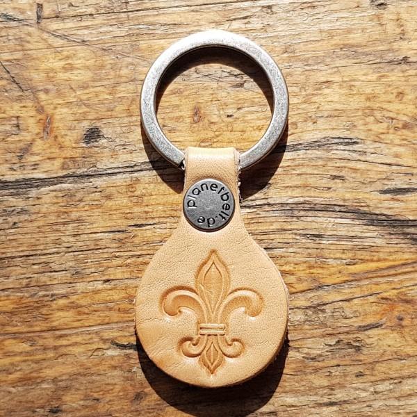 Schlüsselanhänger Mittelalter Französische Lilie