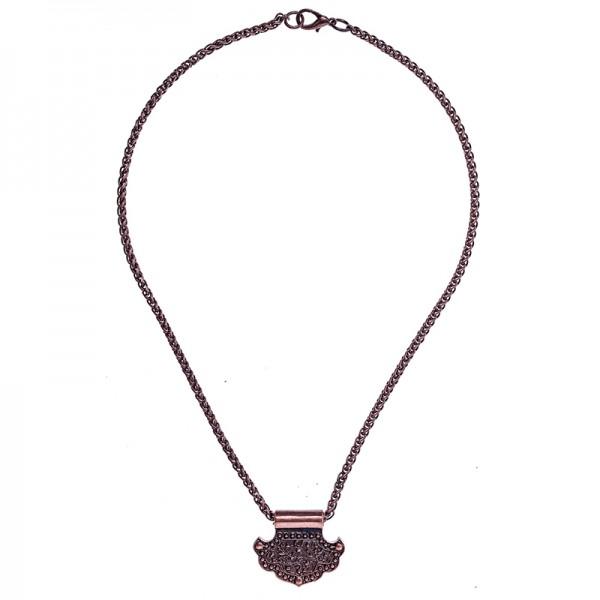 PK 5167-4 Halskette birka hammer, kupferfarben