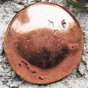 N-140-4 Kugel, Beschlag kupferfarben