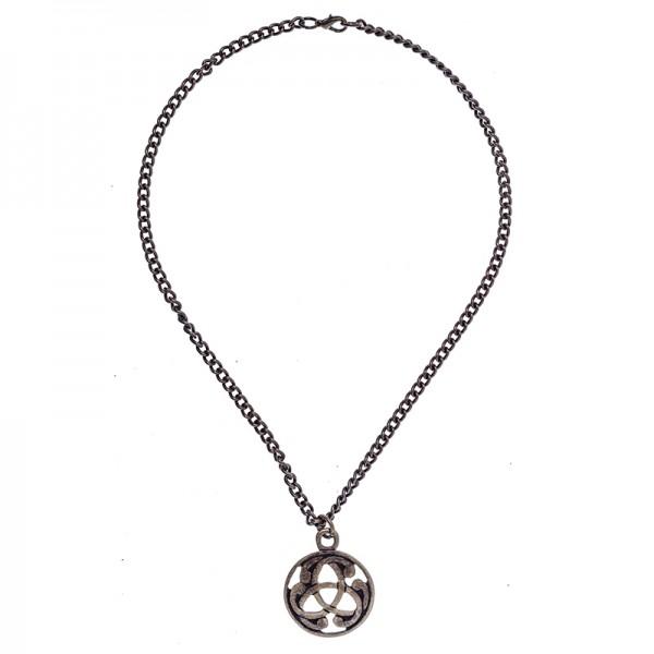 Halskette keltischer Anhänger, altmessingfarben