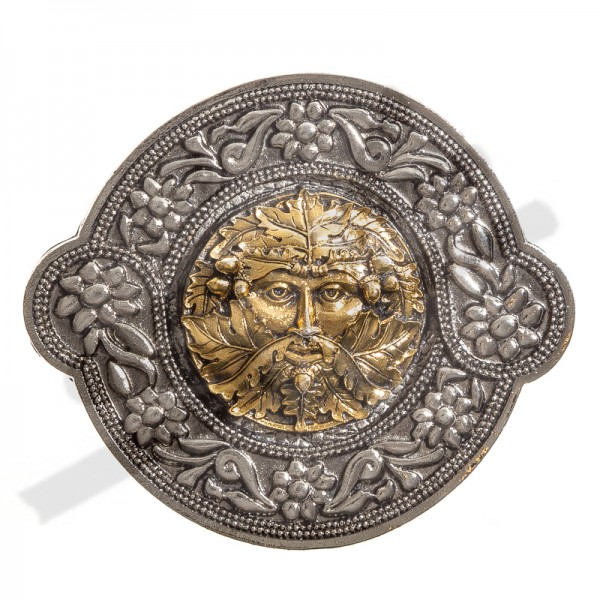 "keltische Schließe ""BELTANE"" , 4cm, Zinnschließe"