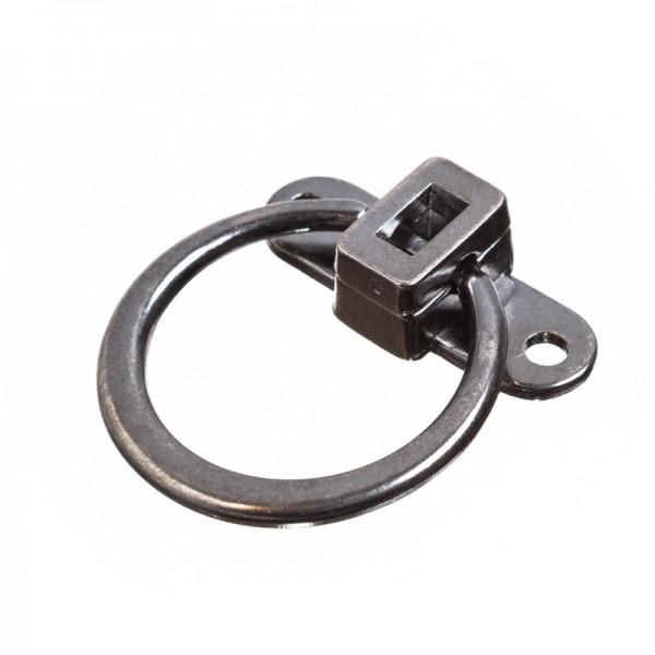 Taschenverschluss RING, eisen