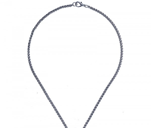 PK 5190 Ösen-Halskette, Flechtoptik