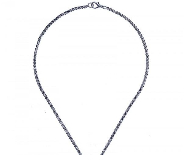 Ösen-Halskette, Flechtoptik