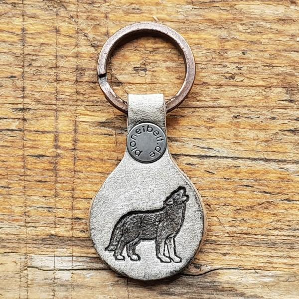 Schlüsselanhänger HEULENDER WOLF
