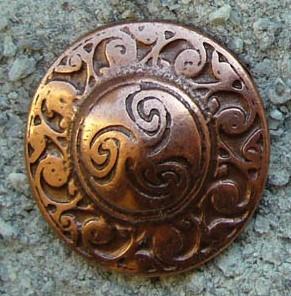 N-180-4 Celtic Circle, kupferfarbener Beschlag
