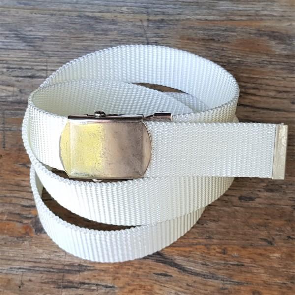 Stoffgürtel weiß, 3cm breit