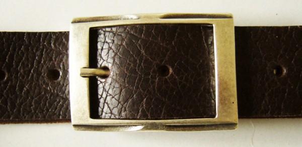 Cato, 4cm, silberne elegante Dorn-Vollschließe