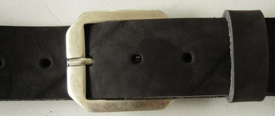 Ras, 4cm, silberne schlichte Dornschließe