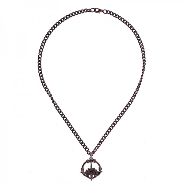 Halskette Haithabu, kupferfarben