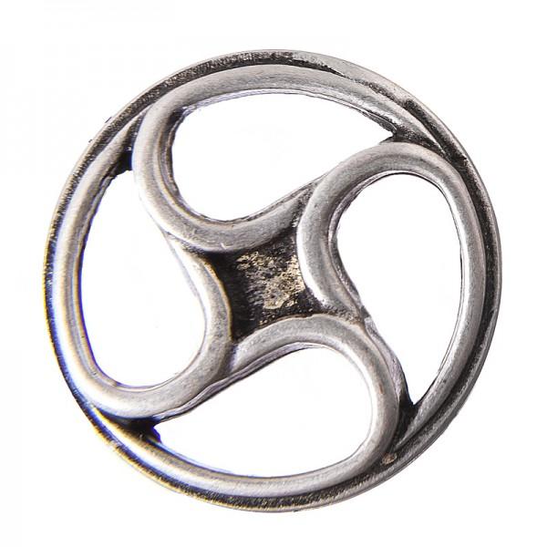 Wheel, silberfarbener Beschlag