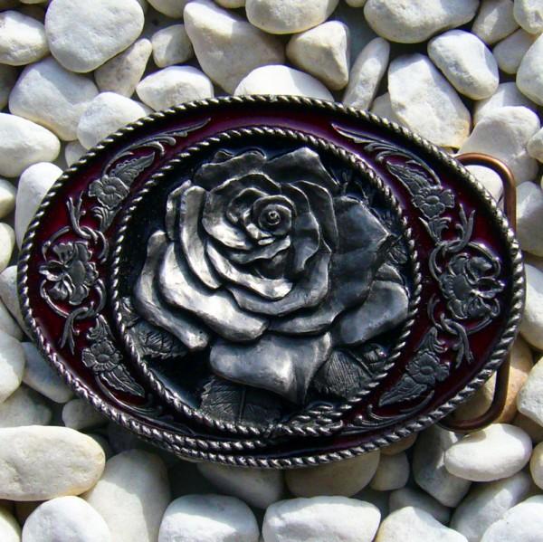 Texas Rose, 4cm, Gürtelschließe