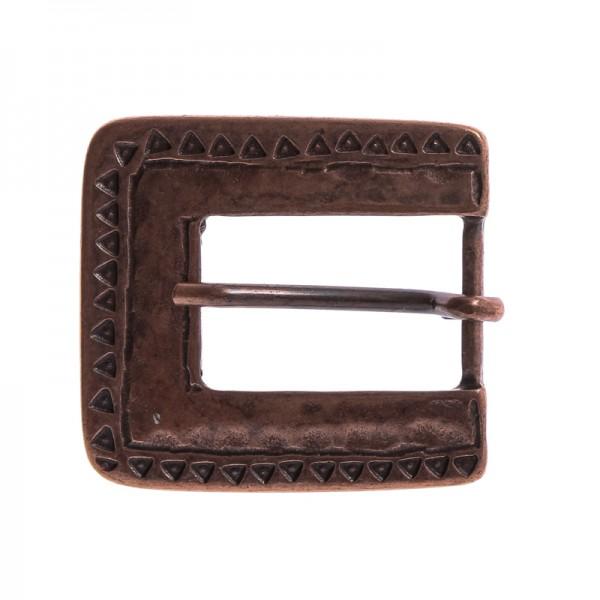 Mittelalter-Schließe, 2cm, kupferfarben