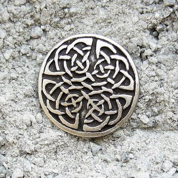 N-119-1 Celtic Knot 2, Beschlag silberfarben