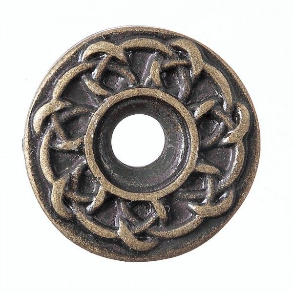 Celtic Ringknot, altmessingfarbener Beschlag