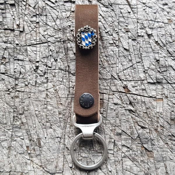 Schlüsselanhänger SLING, Bayern - weiß/blau-