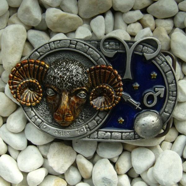 Sternzeichen Widder - Aries, 4cm Schließe