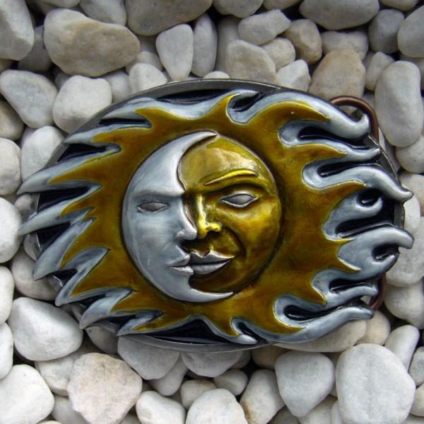 sun & moon, 4cm Schließe