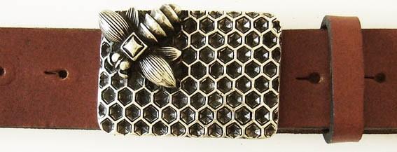 Honey, 4cm, silberne Schließe