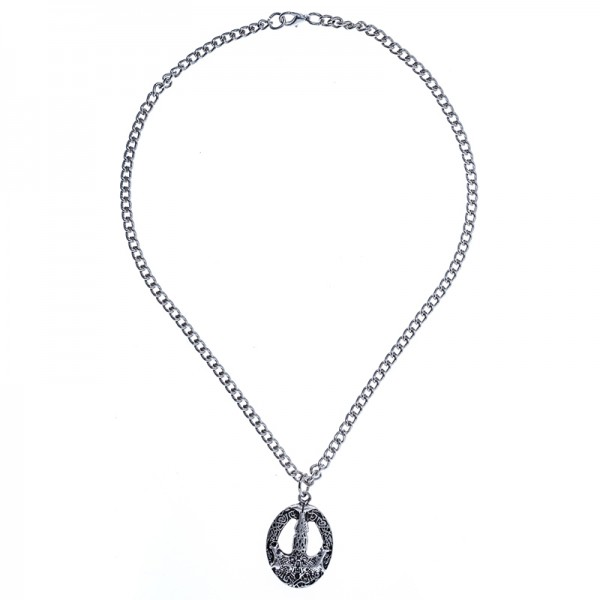 PK 5173-1 Halskette Mjölnir, silberfarben