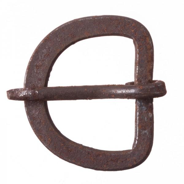 Iron 25, 2,5 cm handgeschmiedete Eisenschließe
