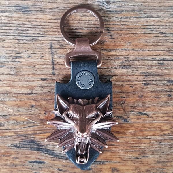 Schlüsselanhänger WITCHER kupferfarben