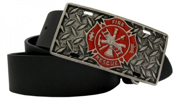 Fire Rescue, 4cm, Feuerwehr-Schließe