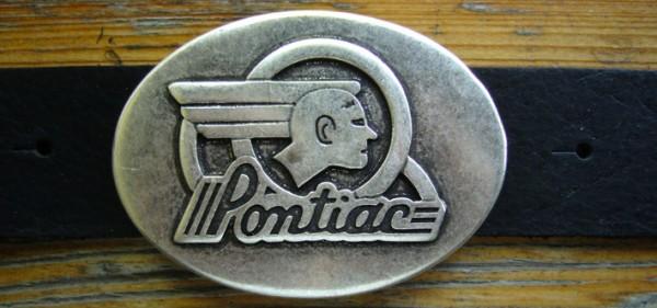 Pontiac, 4cm, silberfarbene Schließe US-Cars