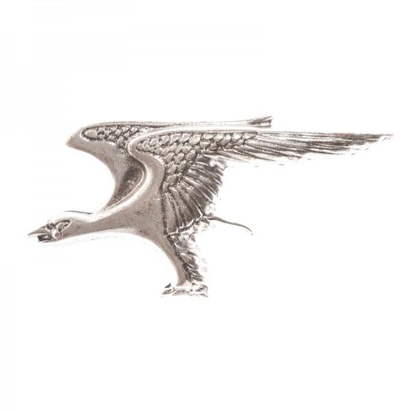 Aquila, 4cm, silberfarbene Fantasy-Schließe Adler