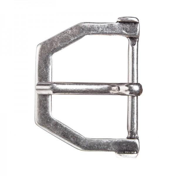 Migli, 4cm, silberfarbene Mittelalter-Schließe