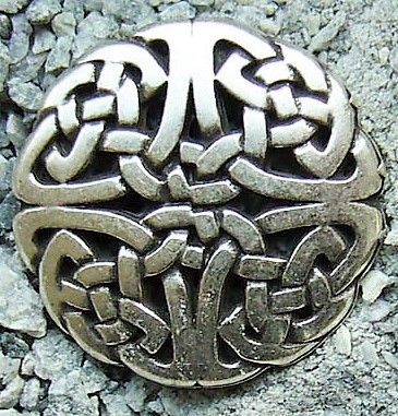 Celtic Knot 1, silberfarben