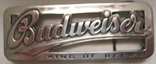Budweiser - King of Beers, 4cm Schließe