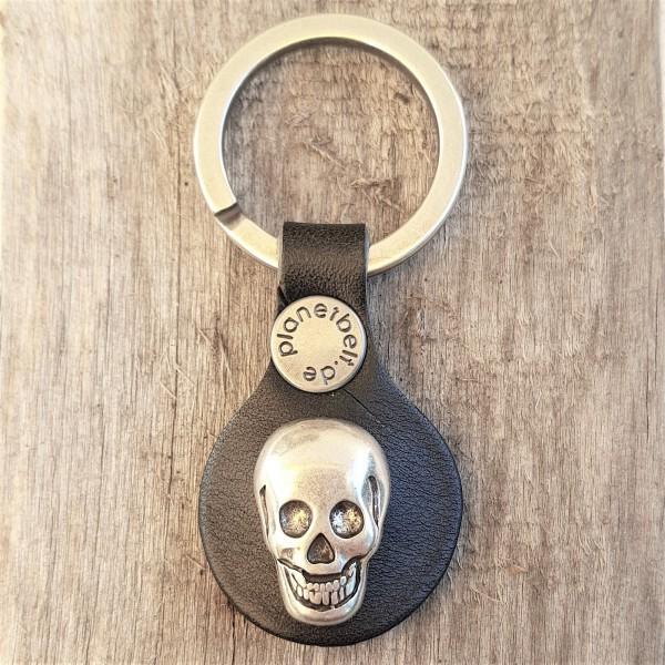 Schlüsselanhänger RONDO GRINNING SKULL