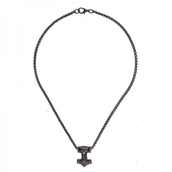 Halskette Malmer des Thor, altmessingfarben