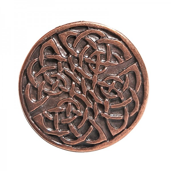 Celtic Knot 2, Beschlag kupferfarben