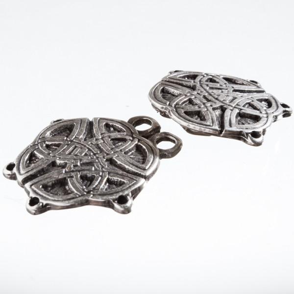 Tassel Celtic-Knot, silberfarben