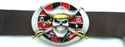 Pirate, 4cm, Zinnschließe