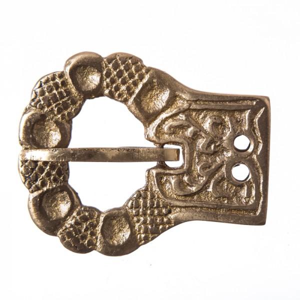 Eicheln-Schließe, 2cm, Messing