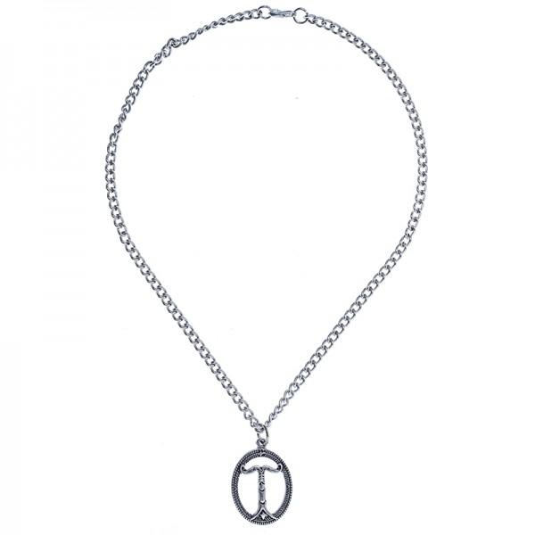 PK 5164-1 Halskette Irminsul, silberfarben