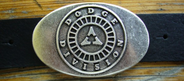 Dodge, 4cm, Gürtelschließe