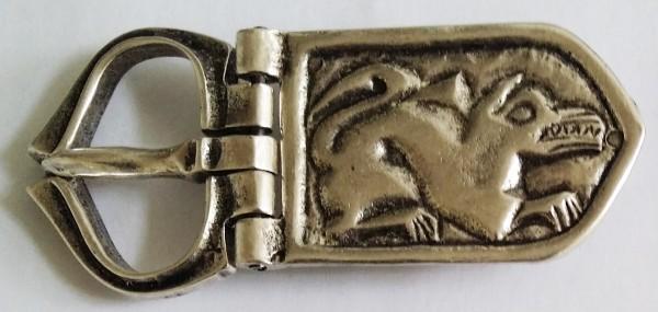 Sarkany, 3cm, silberfarbene Gelenkschließe