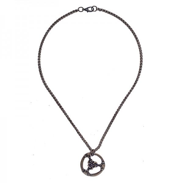 Halskette / Teiler TRIS, altmessingfarben