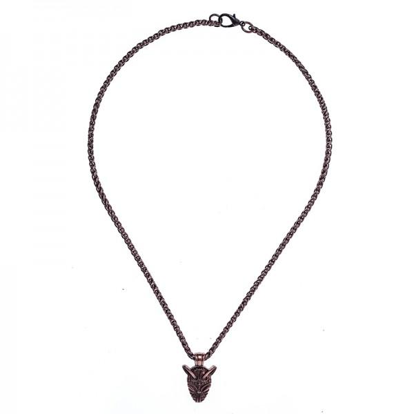 Halskette Fenrir, kupferfarben