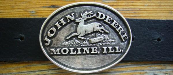 John Deere Gürtelschließe, 4cm