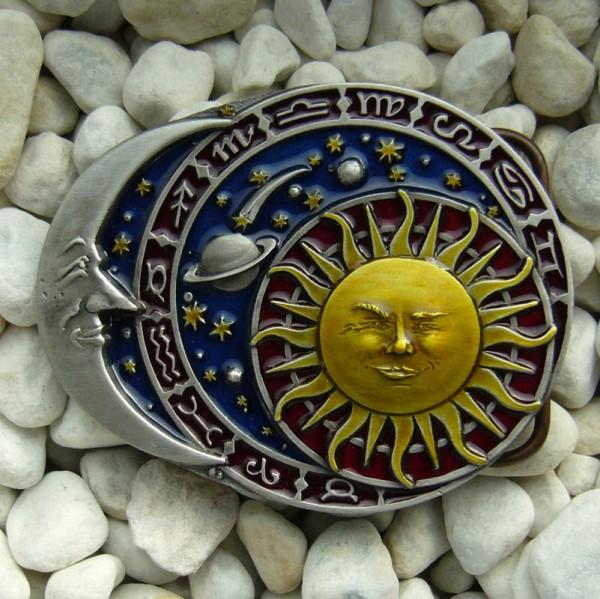 Zodiac, 4cm, Gürtelschließe